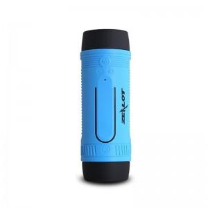 Zealot Waterproof Bluetooth 4.0 Speaker Portable Outdoor Speaker Blue Colour