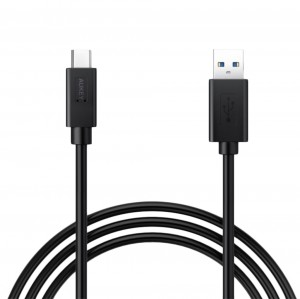 Aukey 90cm Type-C 3.1 to USB-A Charge Data Sync Cable