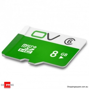 0V Class 6 MIcro SD TF Card  Waterproof - 8GB