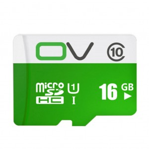 0V Class 10 MIcro SD TF Card 80MB/s Transmission Speed UHS-1 Waterproof - 16GB