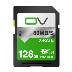 0V Class 10 SD Card Memory SDHC 80MB/s for Digital Camera Camcorder Recorder - 16GB