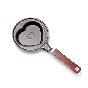 Mini Non-Stick Heart Shape Pattern Egg Frying Pan