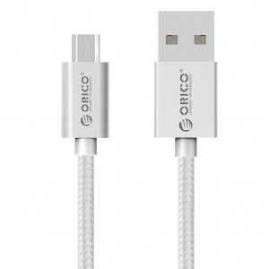 Orico EDC-10 1M Nylon Braided Micro USB Charging Data Cable