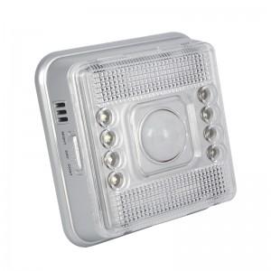 Square Infrared Energy-saving LED Motion Sensor Night Light-White