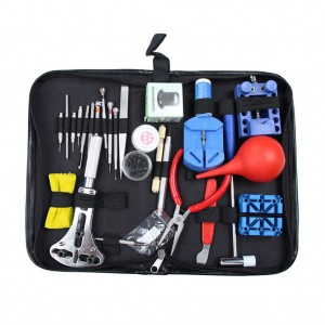 27PCS Watch Repair Tool Kit with Storage Case for Watchmaker