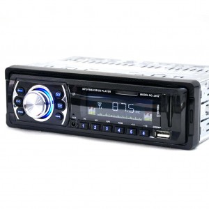 Car Stereo MP3 Player In-Dash Radio with AUX Jack LED Display