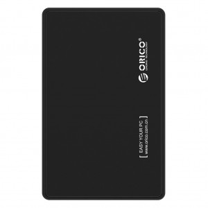 "ORICO 2588US3 USB3.0 External 2.5"" SATA HDD Hard Drive Enclosure Black Colour"