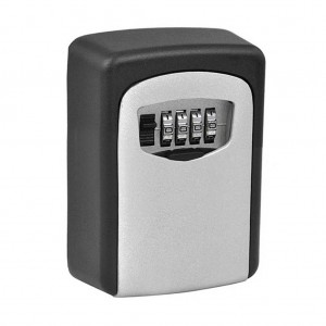 Anti-Theft Wall Mount Key Box Four Digit Combination Lock