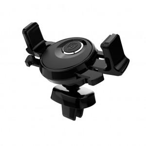 Baseus Universal Car Air Vent Mount Holder for iPhone Samsung Black Colour