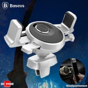 Baseus Universal Car Air Vent Mount Holder for iPhone Samsung Silver Colour