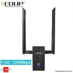 802.11AC AC1200 High Power USB Dual Antenna WiFi Adapter