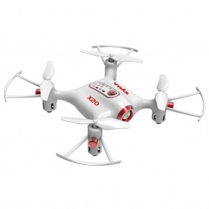 Syma X20 Mini RC Pocket Drone with Altitude Hold Mode