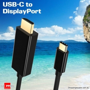 1.8M USB 3.1 Type-C to DisplayPort Cable for 2016 MacBook Pro