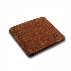 Two-Way Anti Lost Bluetooth Smart Wallet for Men - Brown Colour