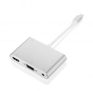 1080P Lightning to HDMI/VGA/Audio Adapter