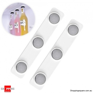 Magnetic Adhesive Bottle Hanger for Refrigerator