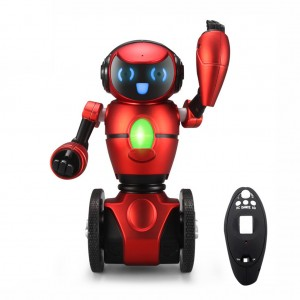 WLtoys F1 Lightweight 2.4G Smart Self Balancing RC Robot G-Sensor with Tray