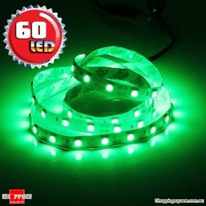 1M Non-Waterproof 5050 SMD 60LED Flexible LED Strip Light 12V Green Colour