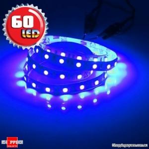1M Non-Waterproof 5050 SMD 60LED Flexible LED Strip Light 12V RGB Colour
