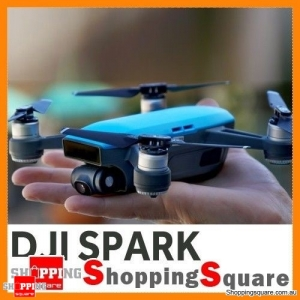 DJI Spark Mini Quadcopter Drone Fly More Combo - Sky Blue