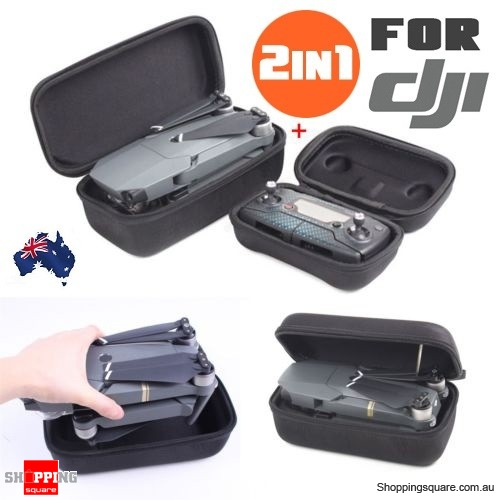 2Pcs of Hard Portable Carrying Case Storage Bag for DJI Mavic Pro Quadcopter & Remote Control