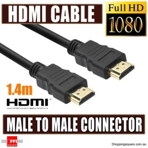 HDMI Male to HDMI Male Cable 1.4m V1.4