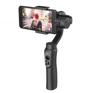 Zhiyun Smooth Q Handheld Gimbal Stabilizer For Mobile Phone Go Pro 5 4 3 - Black