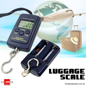 Portable 40kg/10g Electronic Digital Scale for Luggage Travel Fishing Weight