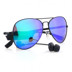 Leapower Bluetooth Smart Sunglasses leisure with earphones - Blue Colour