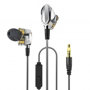 S.Wear G2 3.5mm In-ear Earphone Dual Dynamic Drivers With Mic