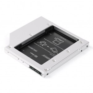 Orico L95SS Aluminum 2.5 inch Internal Hard Drive HDD/SSD Enclosure for Laptop