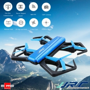 JJRC H43WH Foldable Pocket Selfie RC Drone FPV Quadcopter with 6 Axis 720P HD Altitude Hold G-Sensor