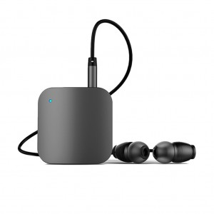 L8 Bluetooth Headphone V4.1 Music Stereo Mini Earphone Headset With Microphone Audio Receiver for Home Car - Gray