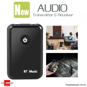 Dual 3.5mm Bluetooth 4.2 Audio Transmitter and Receiver
