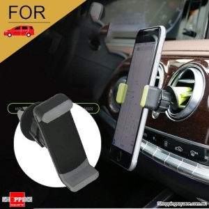 Air Vent Car Phone Holder for iPhone 6 6S Plus 7 5S SE Android Samsung Grey Colour