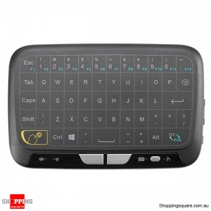 H18 Mini 2.4G Wireless Touchpad Air Mouse for TV Box Smart TV PC XBOX