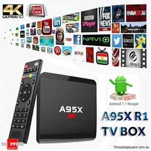 A95X R1 Amlogic S905W 1GB+8GB 4K  Android 7.1 WiFi TV Box