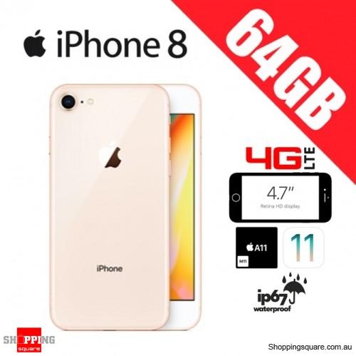 Apple iPhone 8 64GB 4G LTE Unlocked Smart Phone Gold