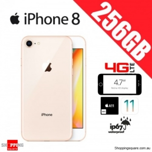 Apple iPhone 8 256GB 4G LTE Unlocked Smart Phone Gold