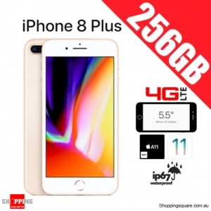 Apple iPhone 8 Plus 256GB 4G LTE Unlocked Smart Phone Gold