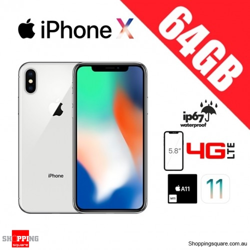 c57bc27c997 Apple iPhone X 64GB 4G LTE Unlocked Smart Phone Silver - Online Shopping    Shopping Square.COM.AU Online Bargain   Discount Shopping Square