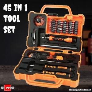 PRECISION 45 in 1 Screwdriver Set Tool Kit for Smartphone Laptop