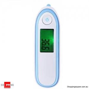 Safety Digital Body Forehead Infrared Non-Contact Thermometer for Baby Adult Blue Colour