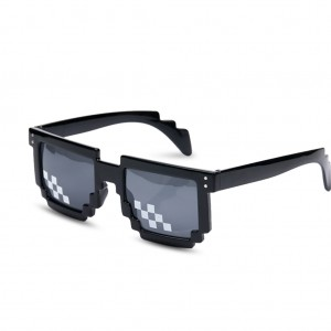 Creative UV400 Pixels Sunglasses Unisex