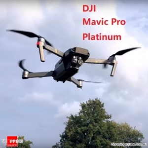 DJI Mavic Pro Platinum With 3Axis Gimbal 4K Camera Noise Drop RC Quadcopter