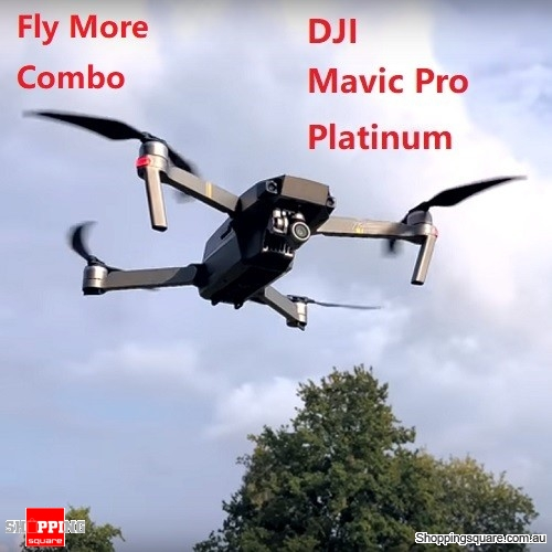 DJI Mavic Pro Platinum Fly More Combo FPV Drone RC Quadcopter With 3Axis Gimbal 4K Camera Noise Drop