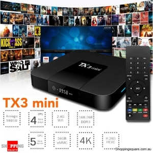 Amlogic S905W 2G RAM 16G ROM Android 7.1 4K TV Box