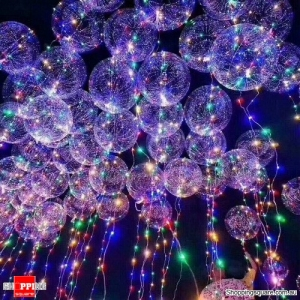 Battery-Operated LED Luminous Balloon Party Decoration