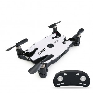 JJRC H49 WiFi FPV Selfie Drone Foldable RC Quadcopter with 720P HD Camera White Colour