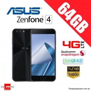 Asus Zenfone 4 64GB ZE554KL 4G LTE 4GB RAM Unlocked Smart Phone Midnight Black